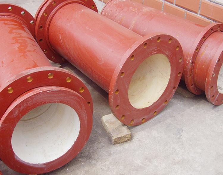 耐磨铸石复合管材