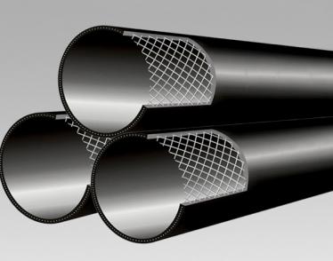 高分子耐磨增强复合管材