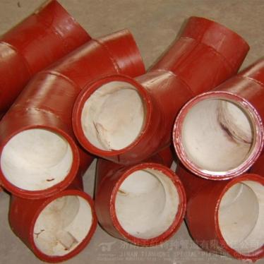 高铝陶瓷耐磨管材